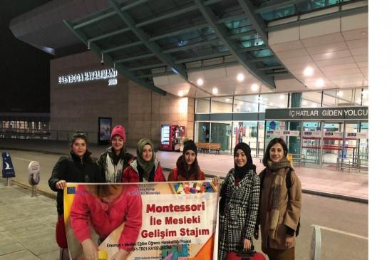 Sulakyurtlu Öğrenciler Hollanda Mesaisinde