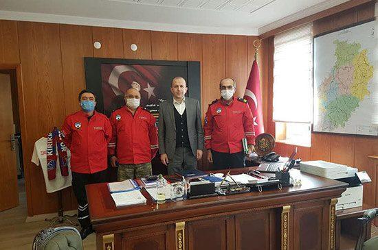 Genel Sekreter Karahan'a Ziyaret