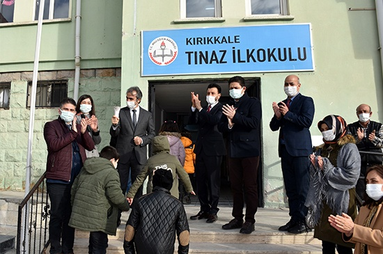 Kırıkkale'de Yüz Yüze Eğitime Başlandı